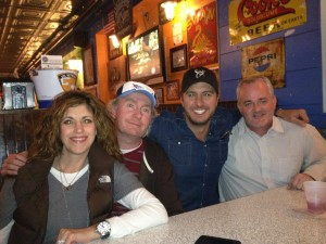With Luke Bryan, Dan Hodges and Kerry Edwards